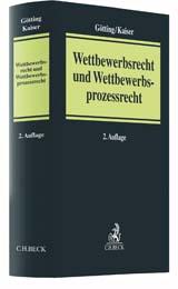 Wettbewerbsrecht und Wettbewerbsprozessrecht | Götting / Kaiser | Buch (Cover)