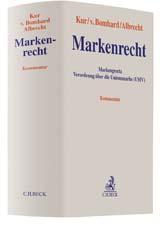 Markenrecht | Kur / v. Bomhard / Albrecht | Buch (Cover)