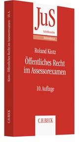 Öffentliches Recht im Assessorexamen   Kintz   Buch (Cover)