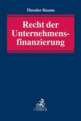 Recht der Unternehmensfinanzierung | Baums | Buch (Cover)