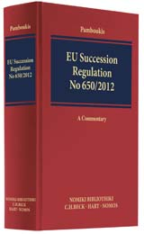 EU Succession Regulation No 650/2012 | Pamboukis | Buch (Cover)