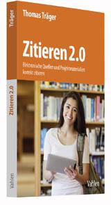 Zitieren 2.0 | Träger | Buch (Cover)