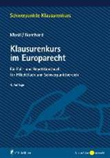 Musil / Burchard: Klausurenkurs im Europarecht (Lehrbuch mit Fallsammlung)